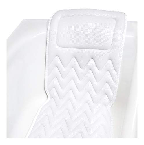Price comparison product image QuiltedAir BathBed Luxury Bath Pillow and Spa Cushion for Full Body Comfort