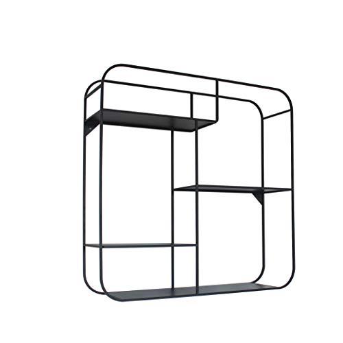 Marca Amazon - Movian Kyyvesi - Estantería para colgar, 60 x 16 x 60 cm, negro