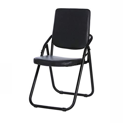 Steel Pipe vouwstoel eenvoudige outdoor conferentie stoel spons stoel kussen stoel A