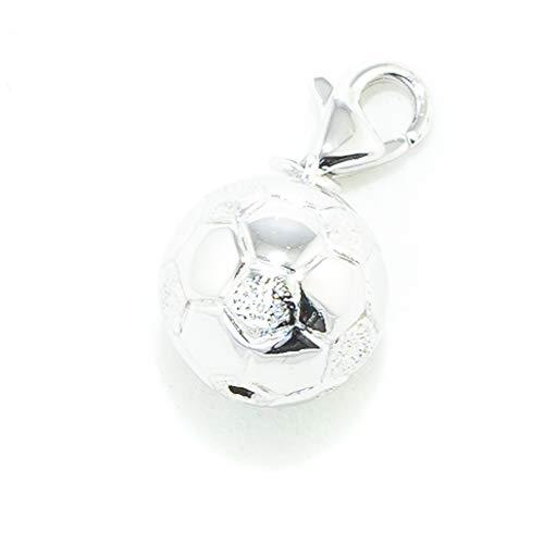 Xenox ABALORIO Charm_Futbol Damen Silber 1 cm