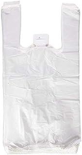 ZCENTER BOLSA de Plastico Asa Camiseta 30 x 40 cm. (200 Unidades)
