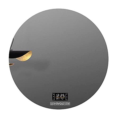 GETZ Espejo de Baño con Iluminación LED con Sensor Touch Control + Antivaho + Tiempo/Temperatura + Bluetooth Espejo de Tocador de Maquillaje Inteligente