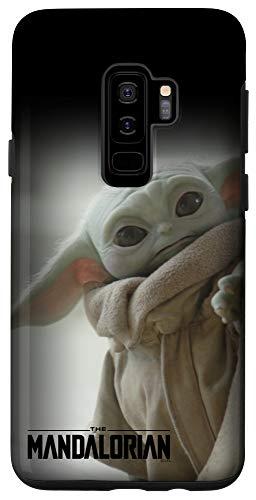 Galaxy S9+ Star Wars: The Mandalorian The Child Peeking Case