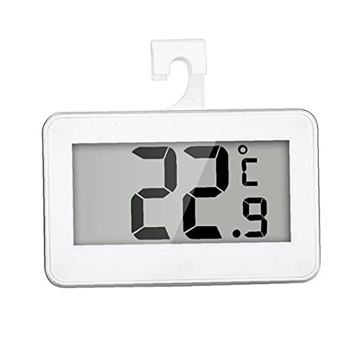 NIDONE Termómetro digital impermeable inalámbrico nevera congelador temperatura de -20 a 60 grados pantalla LCD grande