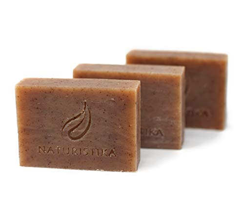 Black Currant Vanilla Soap Bar. Vegan All Natural Handcrafted with Organic Oils and Non-GMO ingredients. Face and Body Soap for Men, Women and Teens. Handmade in USA. (3 Bars, 3.3 oz each)