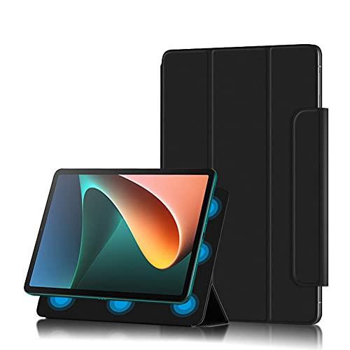 Fitudoos Funda Compatible con Xiaomi Mi Pad 5/Mi Pad 5 Pro 11 Pulgadas,Conexión magnética con Función Soporte, Negro.