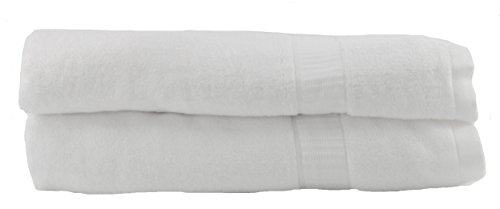 Hotel Sheets Direct 100% Bamboo 2 Piece Bath Towel Set Unbelievably Soft | Hypoallergenic 28 x 56 inch (Set of 2, Bath Towels)