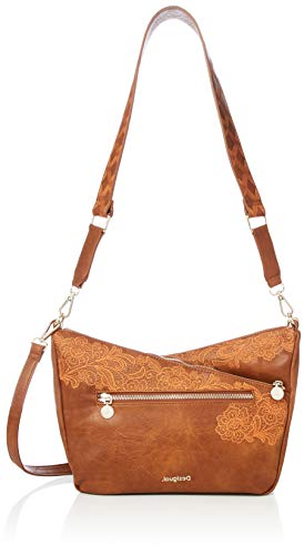 Desigual Melody Harry Mini Sac bandouliére 26 cm, Marron, Taille unique