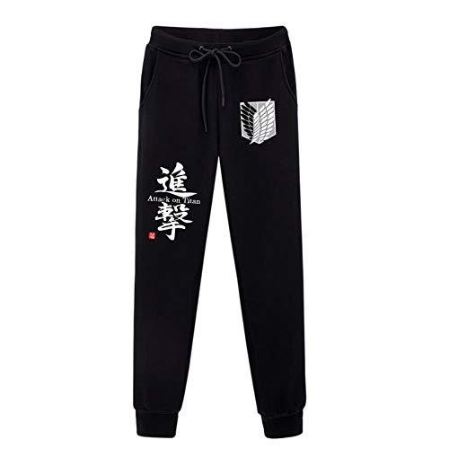 A-gavvzw Herren Sporthosen Cartoon Anime Jogginghosen Track Pants Freizeithosen Sweat Pants Lange Trainingshose Attack On Titan