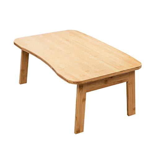 SxsZQ Bamboetafel robuuste computertafel salontafel bureau kinderkamer eettafel 60 * 40 * 26cm Wood Primary Color