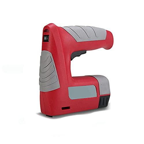 Pistola grapadora eléctrica - 4,2 V USB recargable, portátil, inalámbrica, grapadora, herramientas...