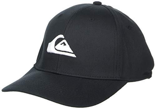 Quiksilver Herren Decades Trucker HAT Baseball Cap, schwarz, Einheitsgröße
