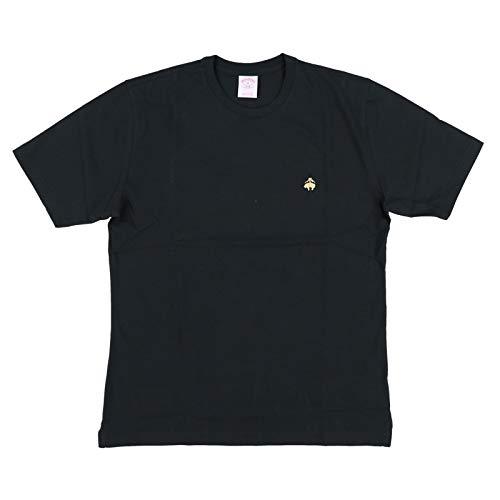 Brooks Brothers Mens Original Crew T-Shirt (L, Black)