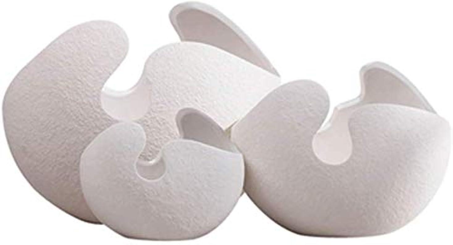 不名誉ワックス推定する花器 セラミック花瓶ホームアクセサリーリビングルームキッチンシンプルなデコレーションホワイト植物フラワーフラワーアレンジメント3セット11 * 15 * 9センチメートル 花瓶