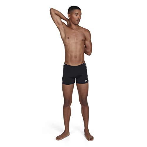 Speedo Classic + Aquashort, Pantaloncini da Bagno Uomo, Nero (Black), 36' (IT 50)
