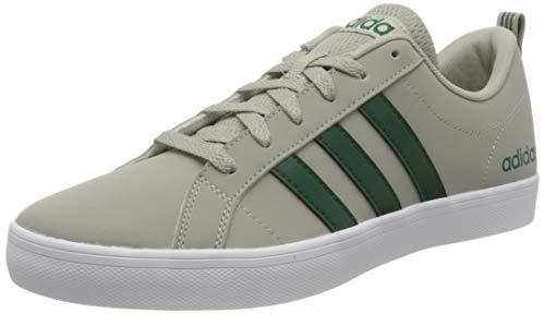 adidas Vs Pace, Zapatillas Hombre, Metal Grey/Collegiate Green/FTWR White, 43 1/3 EU 🔥