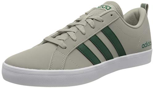 adidas Vs Pace, Zapatillas para Hombre, Metal Grey/Collegiate Green/FTWR White, 42 2/3 EU