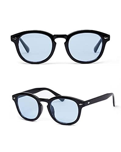 Siyse Gafas de Sol Personalidad Color Hombres Lentes ProteccióN Uv Damas -C