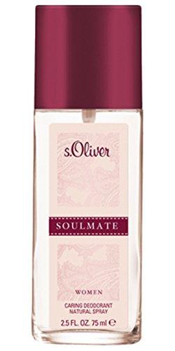 S.Oliver Soulmate Woman femme/woman, Deodorant, Vaporisateur/Spray, 1er Pack (1 x 75 g)