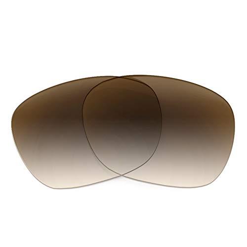 Revant Revant Ersatzgläser Kompatibel mit Oakley Garage Rock, Nichtpolarisiert, Braun Farbverlauf