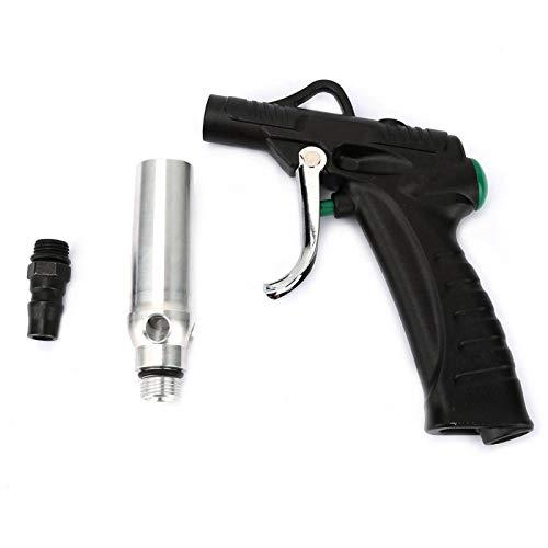 Pistola de soplado Air Duster, fuerte con gran caudal, salida de aire concentrado Pistola de soplado neumática con puerto de admisión de 1/4', para limpieza del hogar