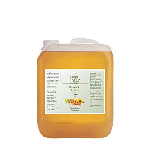 pagra natur Seveda® Massage Öl BIO - Ölmischung - 5l Kanister