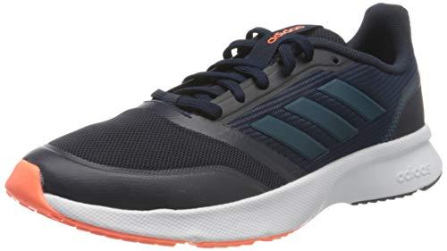 adidas Solar Glide 19 W, Zapatillas para Correr para Mujer, Núcleo Negro Calzado Blanco Núcleo Negro, 36 EU
