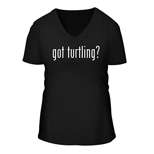 got Turtling? - A Nice Women's Short Sleeve V-Neck...