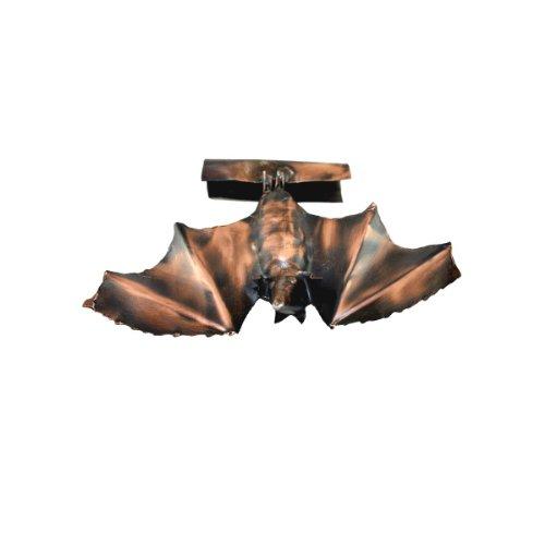 Kupferfigur la chauve-souris pour gouttière de 20 cm fabriquée en cuivre, «dachrinnenfigur dachschmuck hausschmuck