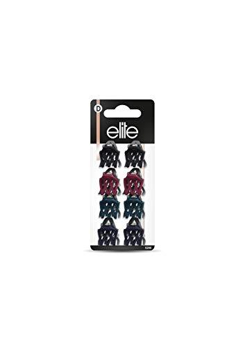 Elite Models Pince a Cheveux lot de 8 couleur aléatoire