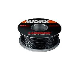 WORX – Bobine de câble périphérique – 200 mètres – WA0177 (Pour tondeuses robots WORX LANDROID – Permet de délimiter la…