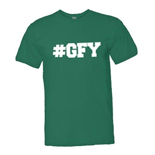 PleaseMeTees Mens Hashtag #GFY Go Fuck Yourself Acronym HQ Tee-Kelly-XXL