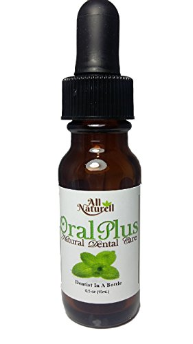 OralPlus 100% Natural Oral Care for Periodontal Disease and Instant Toothache Relief for Gum Disease, Gingivitis, Ulcers, Abscess, Bad Breath, Bleeding Gums, Receding Gums