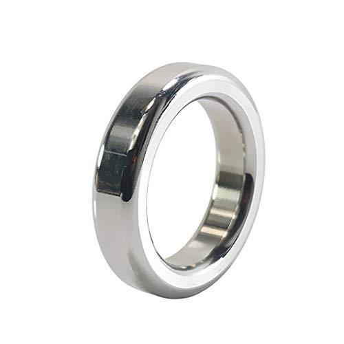 HZS Männer tägliches Training Metall Wasserdicht Tragbarer Verzögerungs-Ring-Verschluss Fein Ring Sonnenbrille T-Shirt (Size : S/37mm)