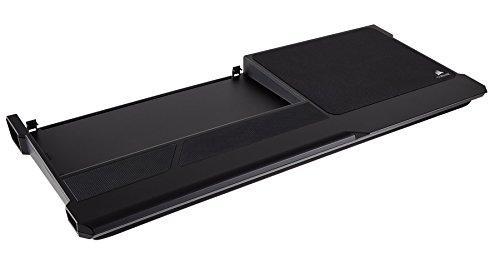 Corsair Lapboard - Tablero portátil de Juego inalámbrico para el Teclado inalámbrico K63, Color Negro