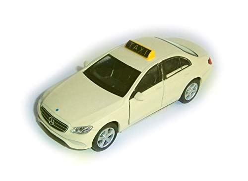 Welly Taxi Mercedes Benz E-Klasse E400 Metall Modellauto Modell Auto Spielzeugauto 61