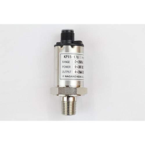 長野計器 圧力トランスミッタ KP15-17G×-100〜300kPa アナログ出力4〜20mA DC 成績書付属