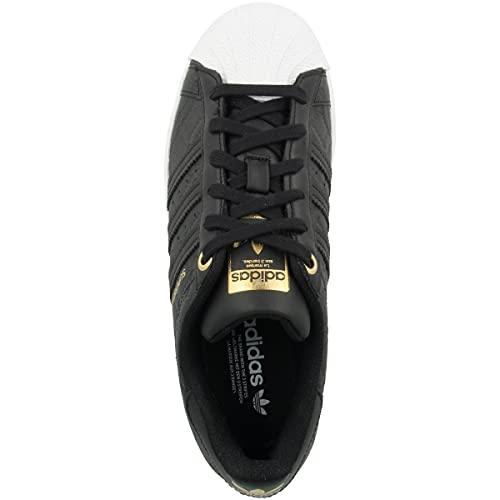 adidas Low Superstar - Zapatillas deportivas para mujer, color Negro, talla 38 2/3 EU
