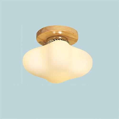 Thumby plafondlampen, plafondlampen, noord-stijl, houten sikkellampen, creatieve vreemde woonkamer, hal, houten lamp, eenvoudige Japanse plafondlamp.