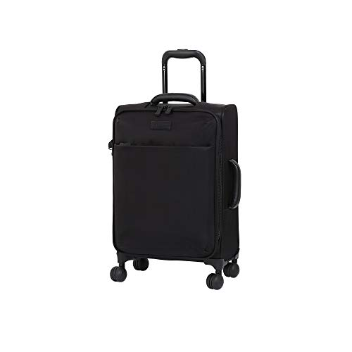 it luggage 22' Lustrous Softside Expandable Carry-On, Black