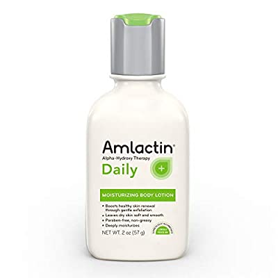 AmLactin Daily Moisturizing Body Lotion | Instantly Hydrates, Relieves Roughness | Powerful Alpha-Hydroxy Therapy Gently Exfoliates | Smooths Rough, Dry Skin