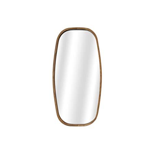 Zdong-espejo Madera de longitud completa sólido Espejo, de estilo japonés de entrada de medio cuerpo Espejo creatividad nórdica estilo decorativo del hogar Espejo Cafetería de pared Espejo Espejos