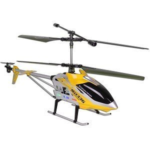 Syma S033G 3.5 Channel 700mm Large RC Helicopter Ready to Fly. Colors May Vary in Yellow or Red. by SYMA