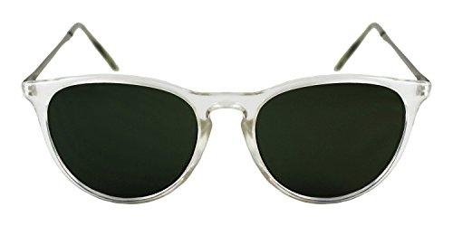 Twice - Lunettes de soleil - Homme vert transparent