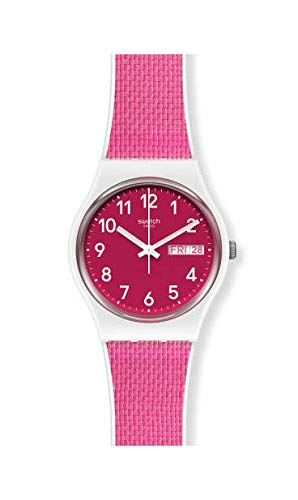 Swatch Reloj Unisex Adulto de Cuarzo analógico con Correa en plástico GW713
