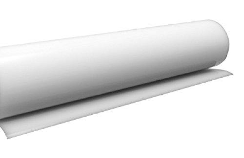 timalo Küchenfolie Hochglanz Weiß, Möbelfolie, Klebefolie für Möbel, Türen Selbstklebende Folie Küche, Meterware (5 Meter x 0.63 Meter)