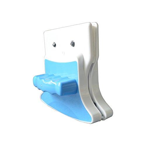 Carré Blanc + Bleu 3–8 mm à double face magnétique fenêtre Cleaner Brosse de lavage d'équipement