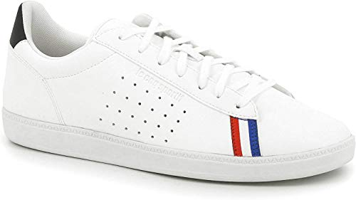 LE COQ SPORTIF COURTSTAR Sport, Baskets Hommes, Blanc (Optical White/Dress Blue), 43 EU
