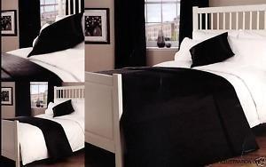 Passion Doppelbett Kunstseide Bettüberwurf Tagesdecke