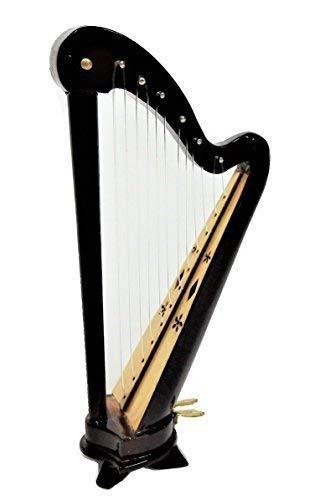 Melody Jane Casa Bambole Gallese Arpa Miniatura Music Stanza Strumento 1:12 Scala